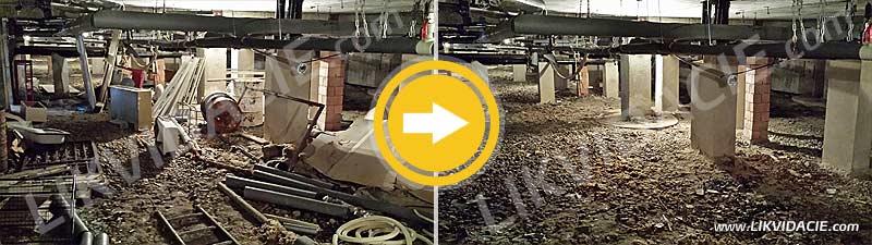 Vypratávanie pivníc, odvoz a likvidácia odpadu, kompletný servis. Zdravotné stredisko – Bratislava, Petržalka