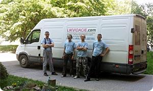 Vypratávanie bytov, odvoz a likvidácia starého nábytku a zariadenia, Bratislava a okolie. LIKVIDACIE.com